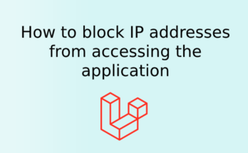 How to block IP addresses from accessing the application
