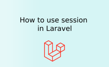 How to use session in Laravel